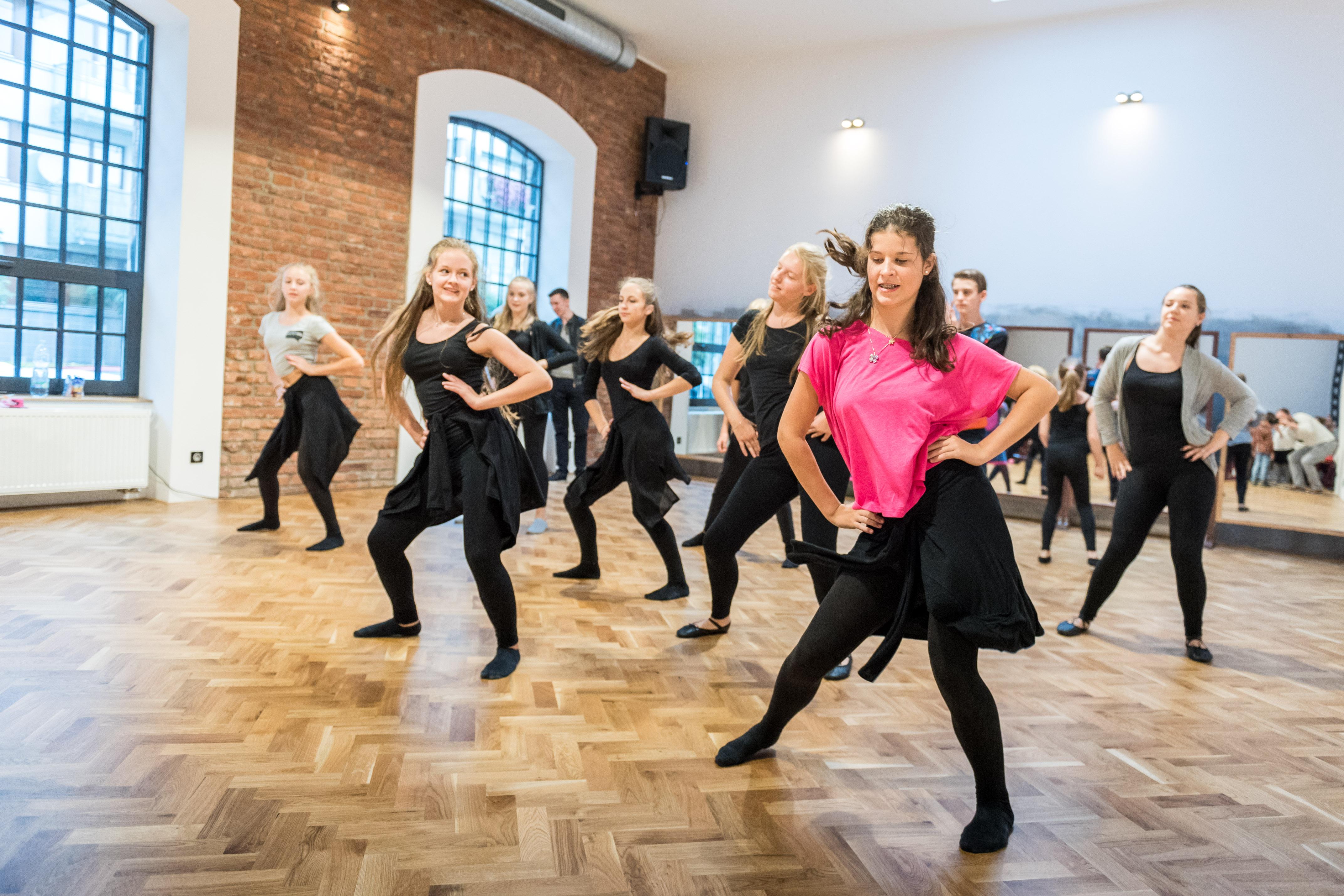 Ukázka Contemporary Dance našich dětí